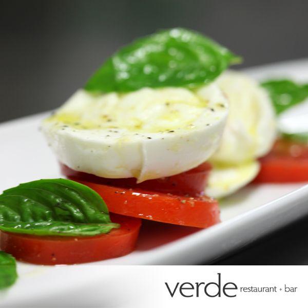 Mozzarella di Buffalo, Vine Ripened Tomatoes, Basil, E.V Olive Oil