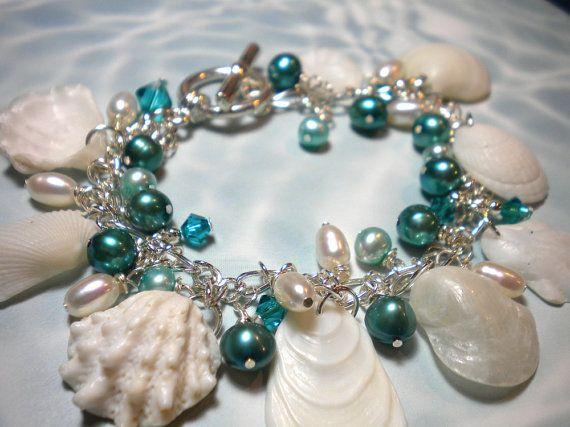 gorgeous seashell bracelet