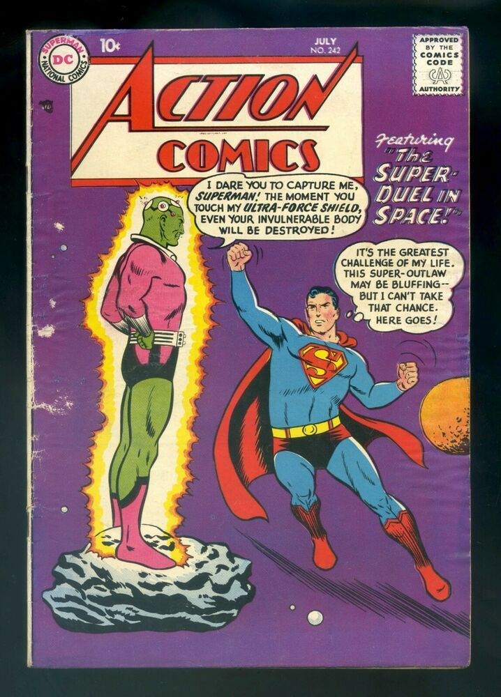 Image result for Action Comics #242