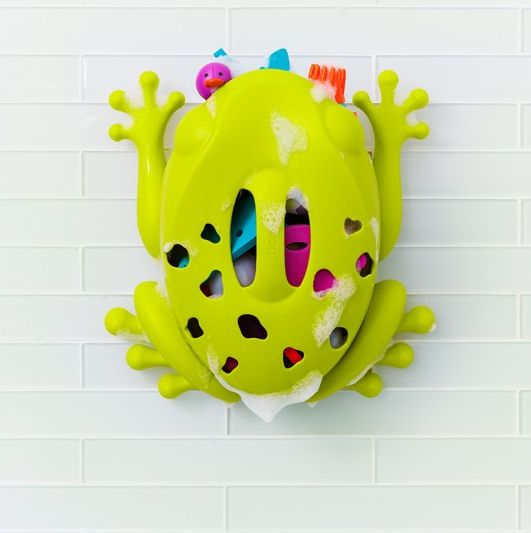 organizer na zabawki kąpielowe Żaba Boon