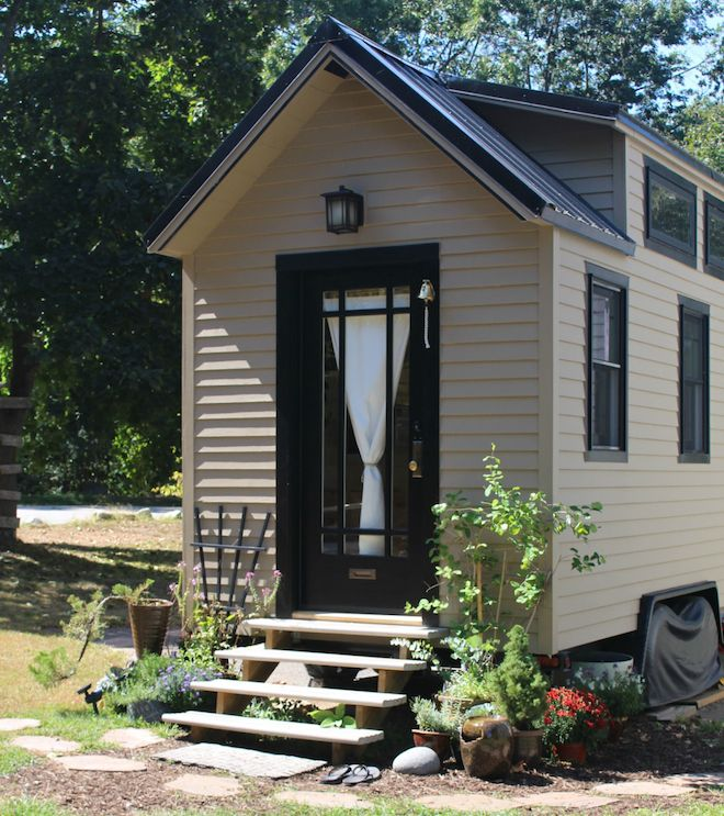 """All photos via Tiny Tall House While there are quite a few tempting """"turn-key"""" tiny homes available to order right now, there's just something about a super personalized owner-built home..."""