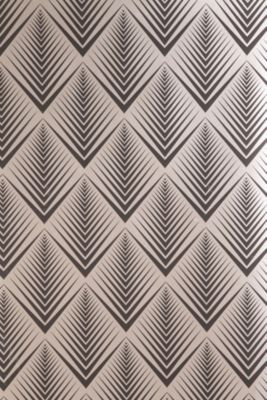 I love the repeating pattern of this print. It would be a great fabric for chairs or wallpaper! It's also got an illusion aspect that I like.