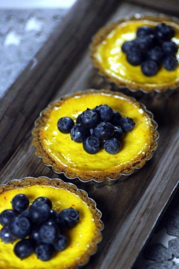 Saffranscheesecake med pepparkaka | Recept.se