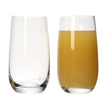 Tumbler Sets - Glassware - Briscoes - Rona Sorrento Hiball Tumbler Set of 6