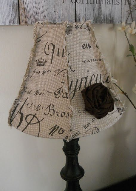 {createinspire}: Lamp Shade Makeover