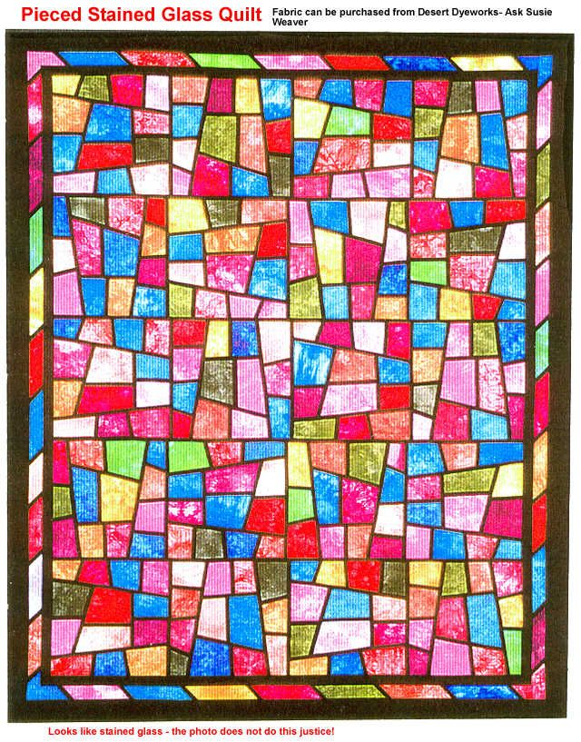 Stained glass effect