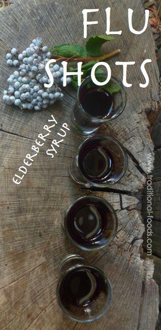Elderberries for the Flu @ Traditional-Foods.com #PRFF