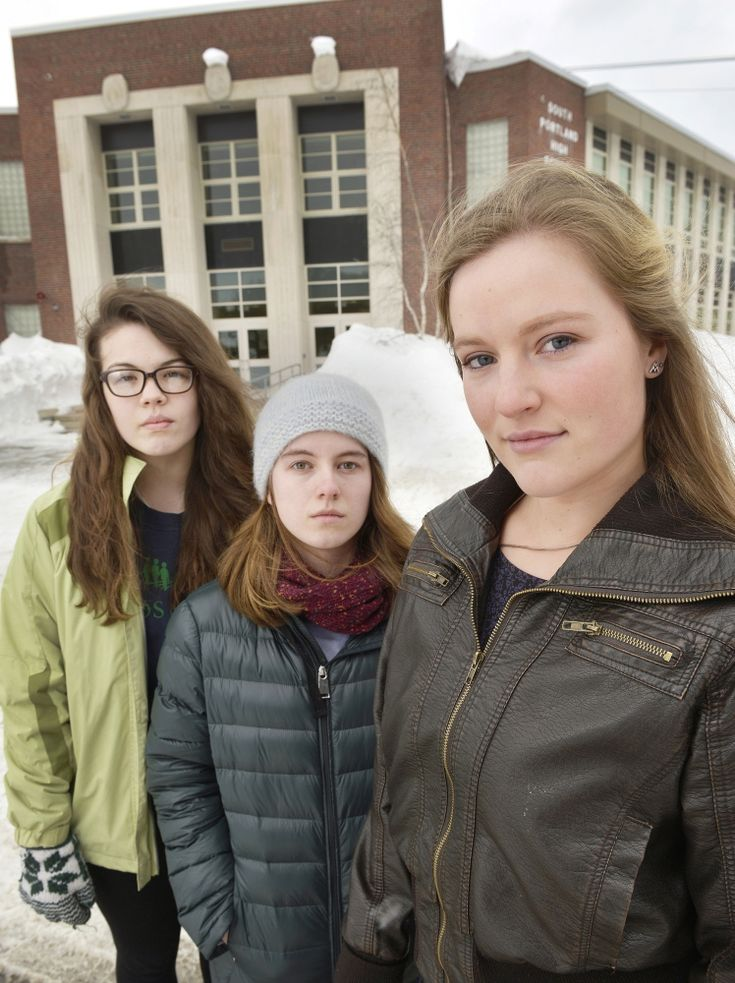 Freedom of speech, backlash of anger over four words at South Portland High School Three students who made others aware of their right not to say the Pledge of Allegiance are stunned by the emotional reaction.|via`tko Portland Press Herald