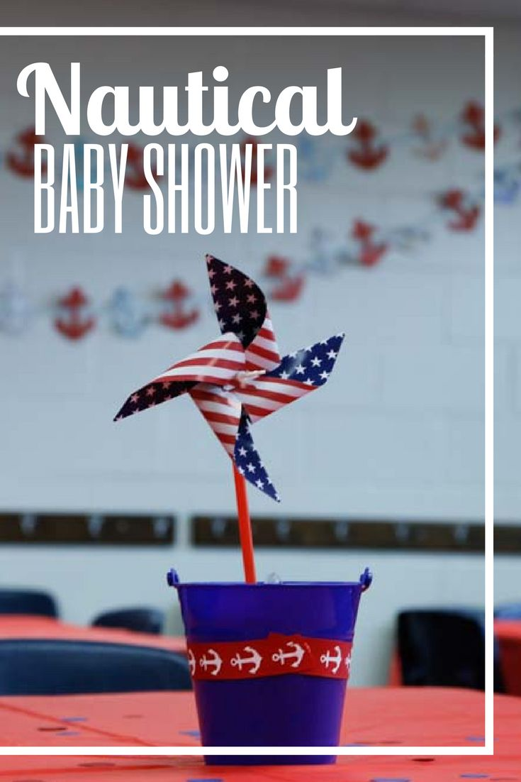 Easy School Baby Shower {Nautical Theme} - The Accidental Mrs. | The Accidental Mrs.