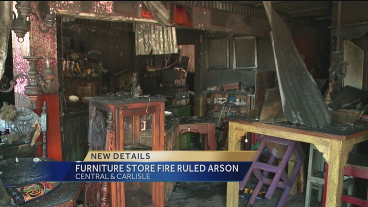 The Albuquerque Fire Department says it is now investigating someone for setting a fire that destroyed a furniture store.