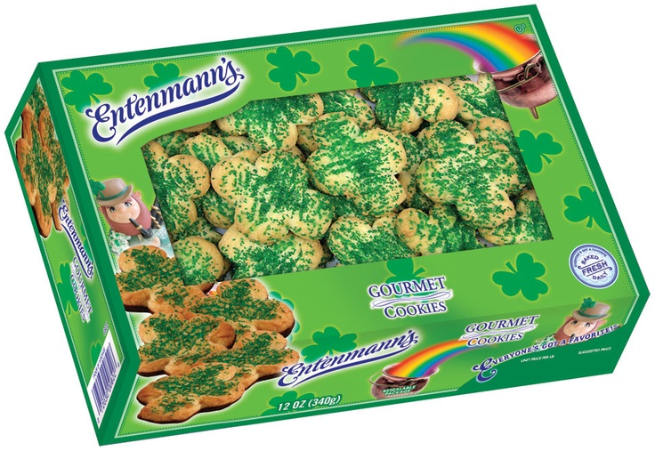 Gourmet cookies? Or little Four-Leaf Clovers?
