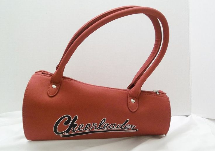 Cheerleader Megaphone Shaped Cloth Purse Faux Embroidery  #Unbranded #Purse