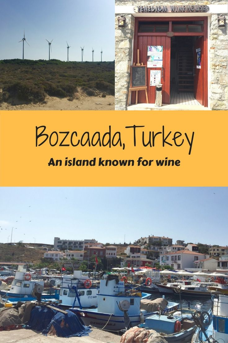 Bozcaada, Turkey is an island known for wine production. But is it worth a visit? Find out my thoughts on A Pair of Passports!