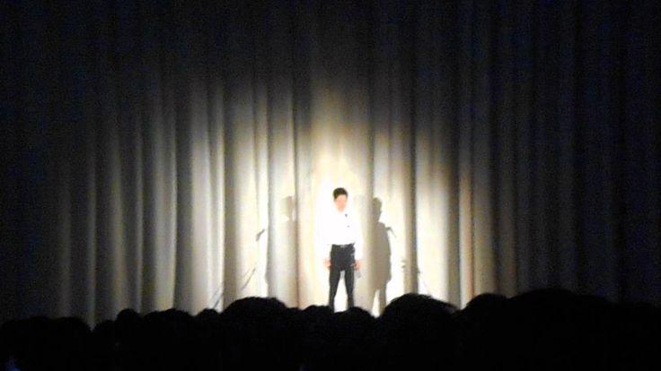 男子中学生の歌う、中島みゆき「糸」
