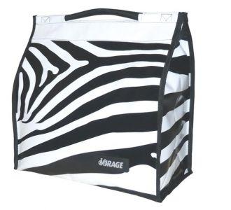 Torba rowerowa Mirage Shopper zebra pojedyncza
