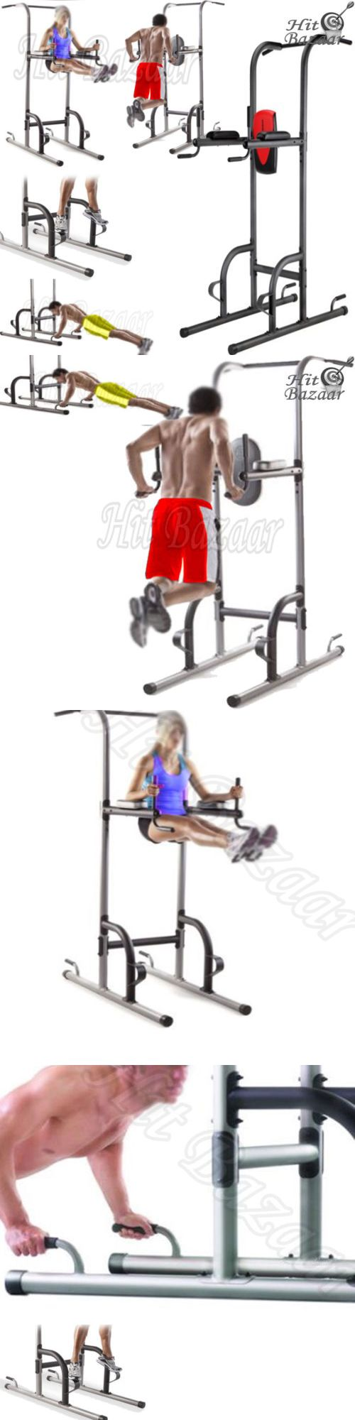 Home Gyms 158923: Power Tower Home Gym Equipment Pull Up Bar Station Dip Stand Knee Raises Workout -> BUY IT NOW ONLY: $140.69 on eBay!