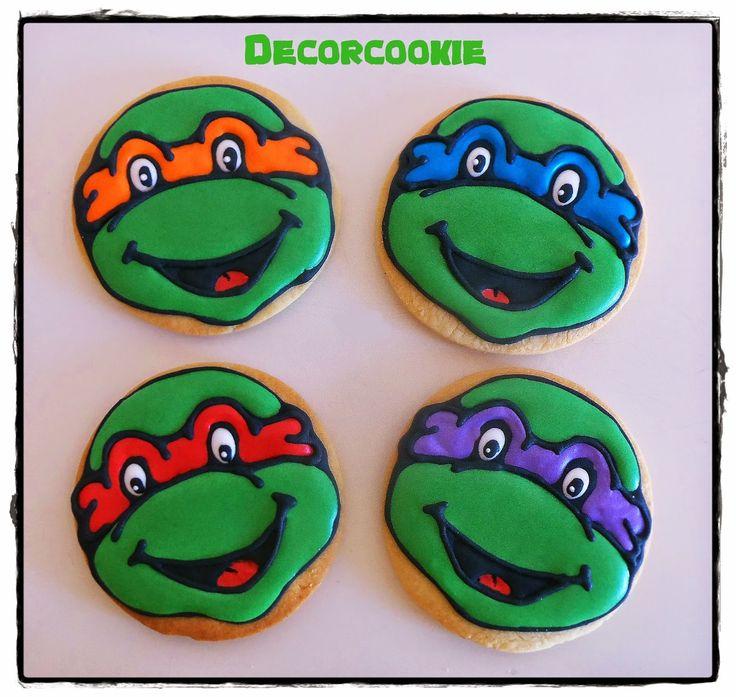 Galletas de las Tortugas Ninja - Teenage Mutant Ninja Turtles cookies