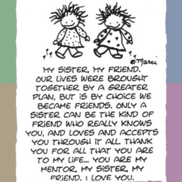22 Best Images About LOVE My Sister! On Pinterest