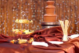 Enticing chocolate fountain recipes with chocolate chips are easily made at home and make great dips for any party. It is quite a simple task, which requires a few basic things, easily available in the market...