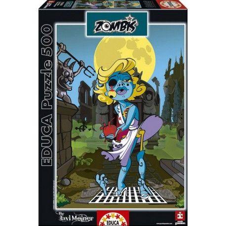 The Blonde -Zombis, Educa Puzzle 500 db