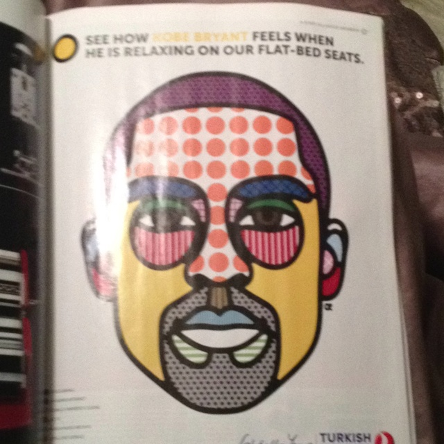 Turkish Airlines featuring Kobe Bryant. Saw in Fast Company June 12 issue.