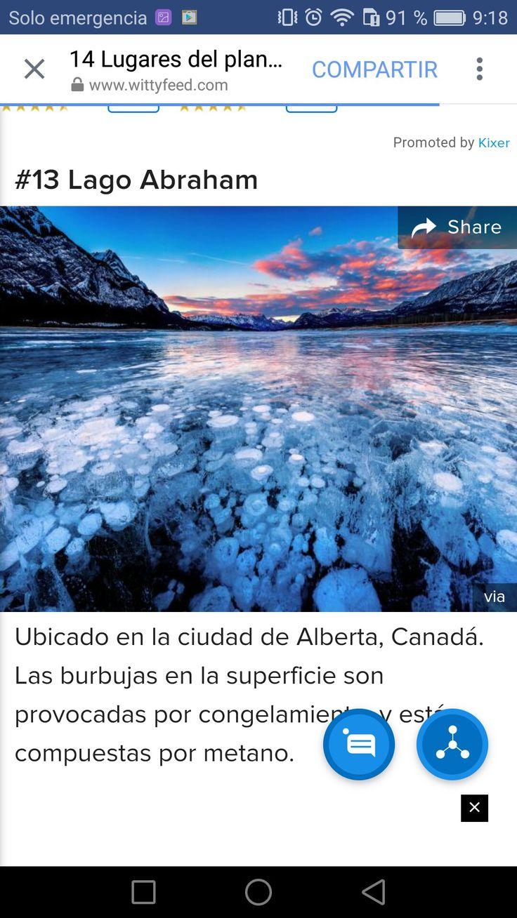 Lago Abraham, Alberta, Canada
