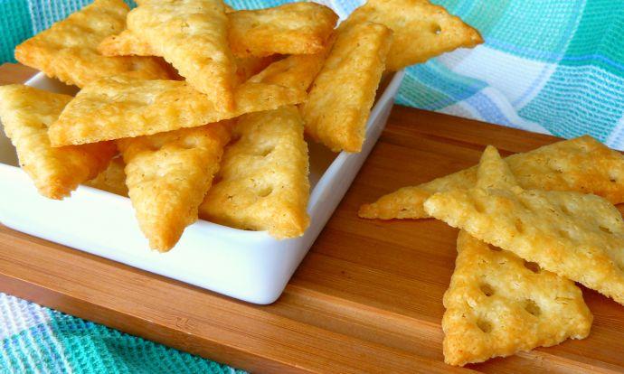 Špaldovo sýrové krekry