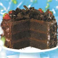 """""""Died and Gone to Heaven Chocolate Layer Cake"""""""