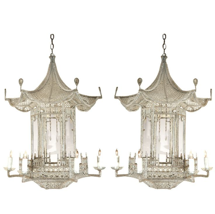 1stdibs - Hand Beaded, Pagoda Chandeliers explore items from 1,700  global dealers at 1stdibs.com