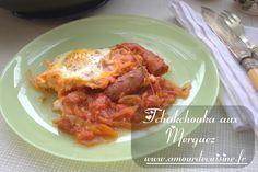 ojja merguez / cuisine tunisienne - Amour de cuisine