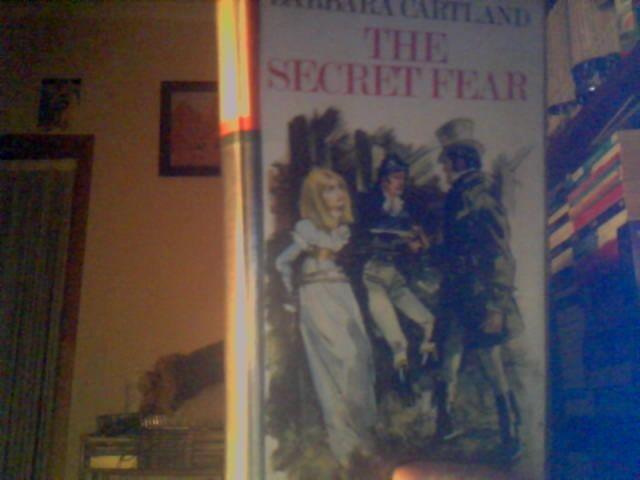 My first Barbara Cartland book