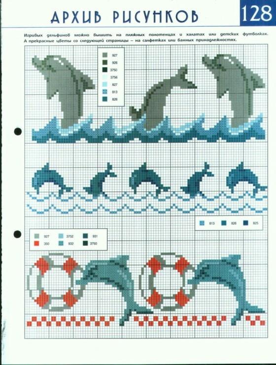 Bordures dauphins