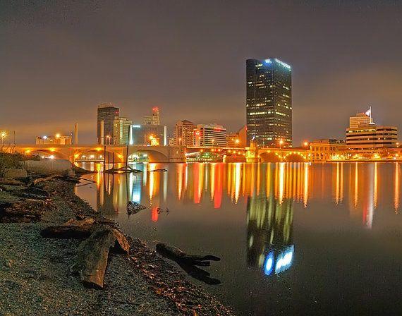 Toledo Waterfront - Toledo, Ohio Color
