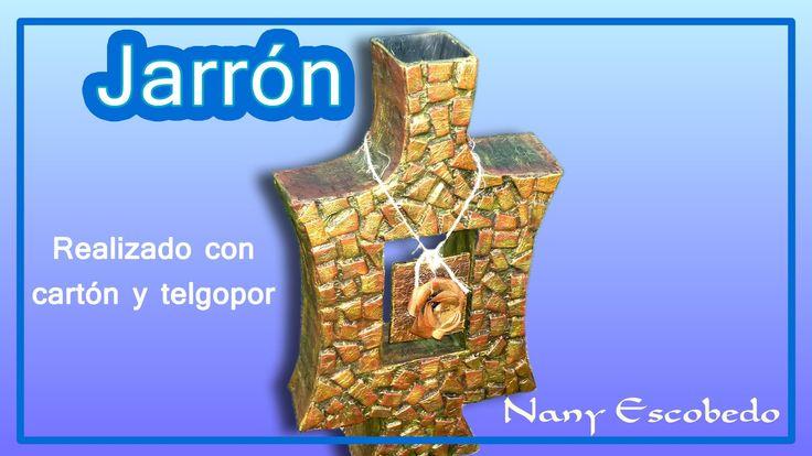 JARRÓN IMITACIÓN PIEDRA