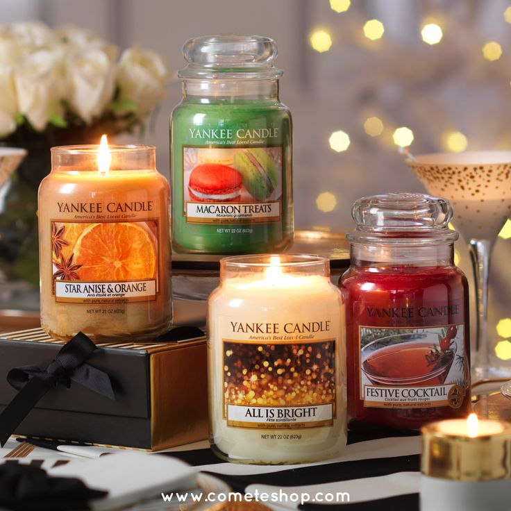 At 22 oz., this Yankee Candle classic large jar candle provides a long burn and adds a pleasant aroma to any space. Made in America with premium-grade paraffin, each wick is straightened by hand to ensure the best quality burn.