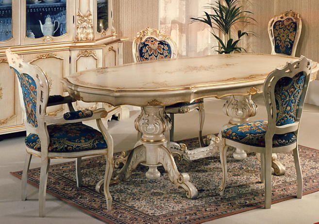 tavolo veneziano laccato
