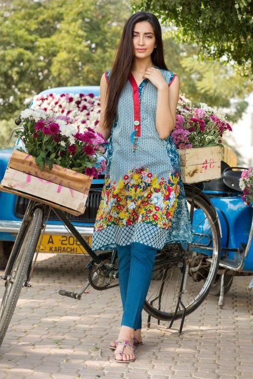 Khaadi Stylish Summer Lawn Dresses Collection 2016-2017