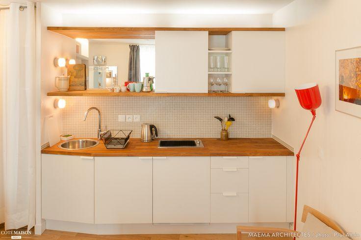 Studio Dorchampt - 20m2 d'ultra confort, maéma architectes - Côté Maison