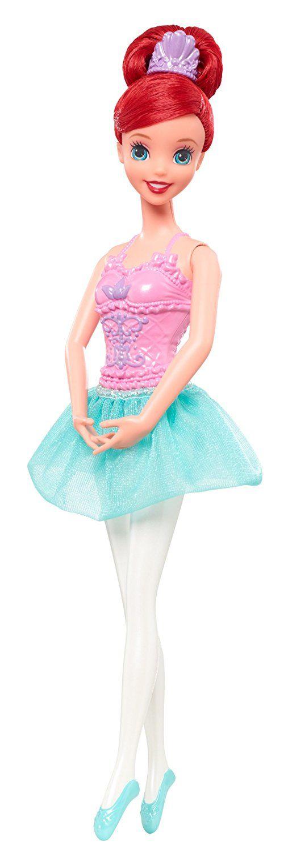 Boneca Barbie Bailarina Disney Princess Mattel - Ariel   Uma linda princesa bailarina!