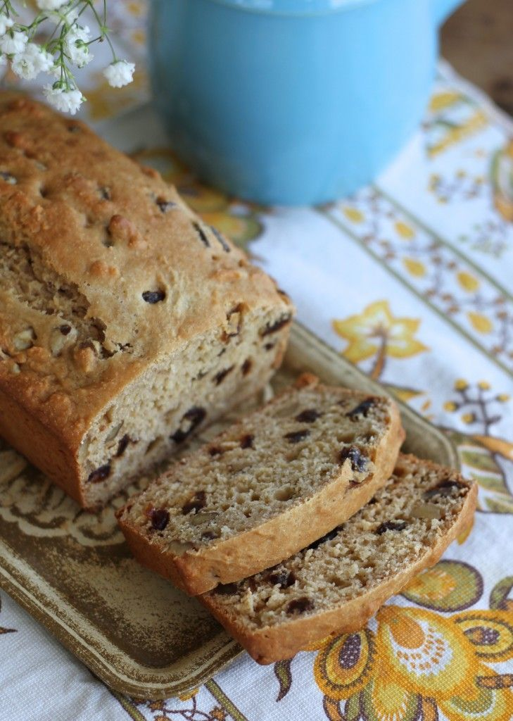 Pioneer Bread is an old recipe that is filled with wonderful ingredients! Bakes up as a quick bread and AWESOME as toast in the morning! {Brittany's Pantry}