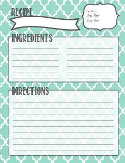 Best 25+ Recipe binders ideas on Pinterest | Recipe books