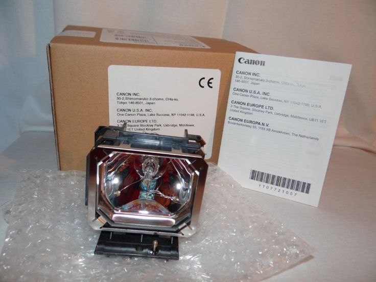 NEW OEM CANON RS-LP04 Projector Lamp-bulb for Realis SX7 Mark II, D, WUX10, X700 #Canon