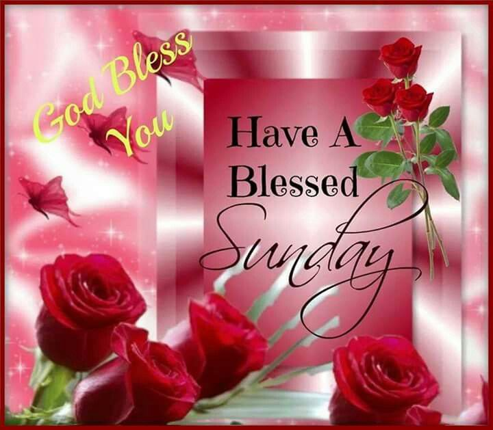 Sunday Blessing Images  Thanks M.