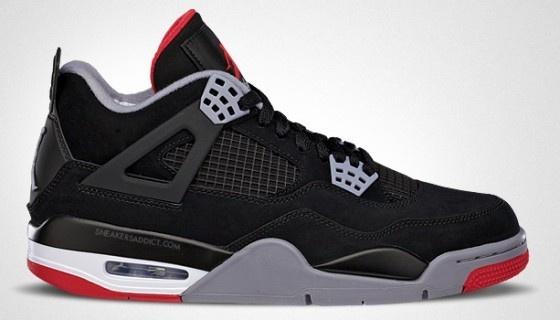 "Air Jordan IV ""Bred'"