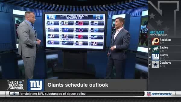 Do the New York Giants have enough to capture the NFC East crown?  Elliot Harrison & Heath Evans predict their 2016 record.
