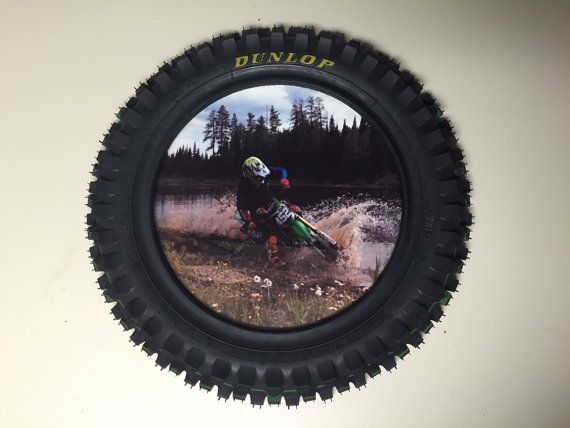 Dirt Bike Picture Frame by Motoframe on Etsy