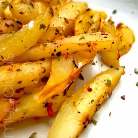 Resep Hot & Spicy Baked Potato