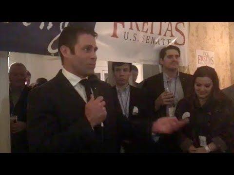 Nick Freitas Announces Senate Run to Unseat Tim Kaine