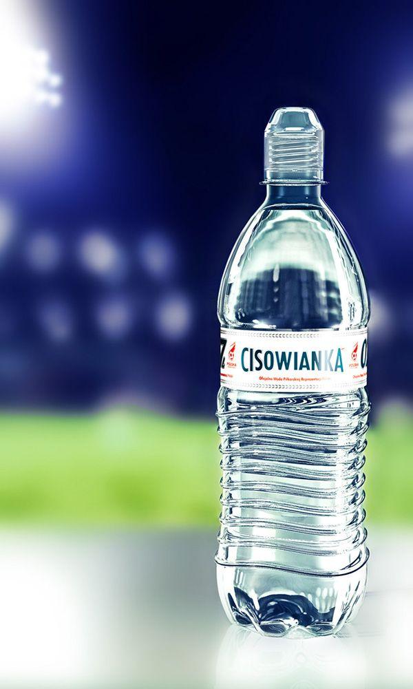 Cisowianka 07 On Behance Water Bottle Design Water Bottle Label Design Water Packaging