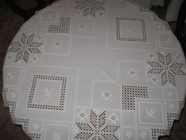 Hardanger tabletop.